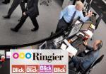 ελβετική εφημερίδα αίθουσα σύνταξης ενοποιημένη newsroom blick